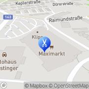 Karte HAIRLOUNGE Ried im Innkreis, Österreich