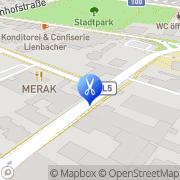 Karte Haarstudio BM Spittal an der Drau, Österreich
