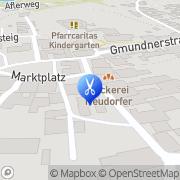 Karte haarsache bei Gernot Schörfling am Attersee, Österreich