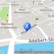 Karte Ihr dm friseurstudio Bad Ischl, Österreich