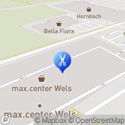 Karte KLIPP unser Frisör Wels, Österreich