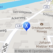 Karte Klemenjak Susanne Rosegg, Österreich