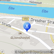 Karte Trampenau Isolde Kosmetiksalon Königstein/Sächs. Schw., Deutschland