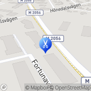 Karta Flinka Fingrar Kristianstad, Sverige