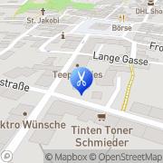 Karte Kosmetikstudio Grit Weber Neustadt i. Sa., Deutschland