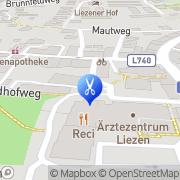 Karte Frisiersalon Sonja Liezen, Österreich
