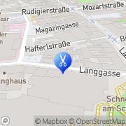 Karte Cut n' Go Friseur Linz, Österreich