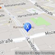 Karte Hairline - Loicht Linz, Österreich