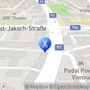 Karte Friseursalon Kurt Klagenfurt, Österreich