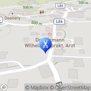 Karte Frisiersalon Ortrun Adlesice Maria Saal, Österreich