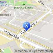 Mapa Delta Szczecin, Polska