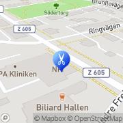 Karta Nfi Nordiska Frisörinstitutet AB Östersund, Sverige