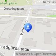 Karta Studio Hår & Hälsa Växjö, Sverige