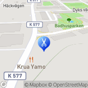 Karta Kerstins Hårvård Asarum, Sverige