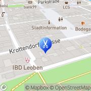 Karte KLIPP unser Frisör Leoben, Österreich