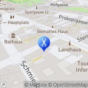 Karte Landhaus Friseur Graz, Österreich
