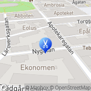 Karta Johannas Hårfix Linköping, Sverige