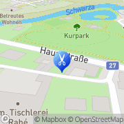 Karte Frisiersalon beim Kurpark Raxen, Österreich