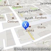 Mapa Michałkiewicz Artur. Fryzjerstwo Chojnów, Polska