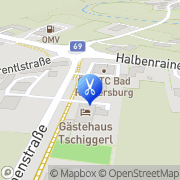 Karte Treffpunkt Ihr Friseur Bad Radkersburg, Österreich