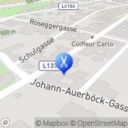 Karte Haarstudio Margit Winkler Aspang Markt, Österreich