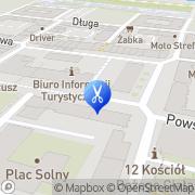 Mapa Gorzelańczyk Ewa. Fryzjerstwo Głogów, Polska
