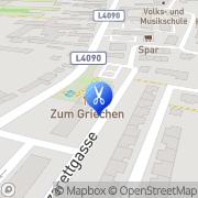 Karte Friseur Edith Rohl Katzelsdorf, Österreich