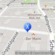 Karte Ihr dm Friseur Studio Wien, Österreich