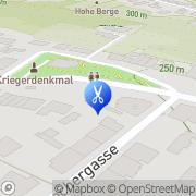 Karte Friseur Anita Wien, Österreich