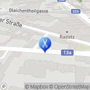 Karte Haarstudio Andritz Wien, Österreich