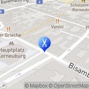 Karte Ihr dm Friseur Studio Korneuburg, Österreich