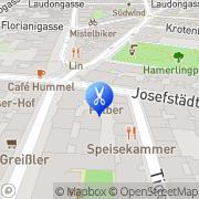 Karte Intercoiffeur Strassl Wien, Österreich
