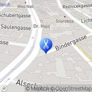 Karte Hair Artelier Vienna Wien, Österreich