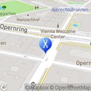 Karte K. u. K. Hofbarbier Wien, Österreich