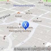Karte HairLounge Wien, Österreich