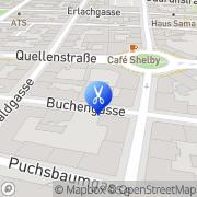 Karte Anneliese Frisier-Salon Wien, Österreich