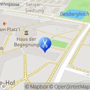 Karte Günther Frisiersalon Wien, Österreich