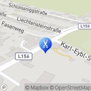 Karte vorHair - nachHair Ebergassing, Österreich