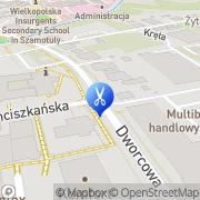 Mapa Gończowska Beata. Fryzjerstwo Szamotuły, Polska