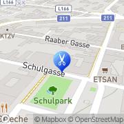 Karte Haarstudio Markl Bruck an der Leitha, Österreich