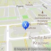 Mapa Sokółka Czesław. Fryzjerstwo Poznań, Polska