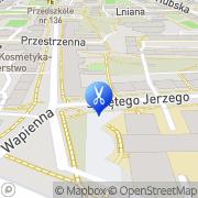 Mapa Fryzjerstwo Wrocław, Polska