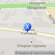 Karta Karinas Klipp Uppsala, Sverige