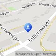 Karta Kallhälls Frisering Kallhälls Villastad, Sverige