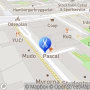 Karta Hintze Hair Fair Stockholm, Sverige
