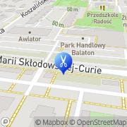 Mapa Czajkowska Ewa. Fryzjerstwo Bydgoszcz, Polska