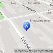 Karta Roslagssalongen Stockholm, Sverige
