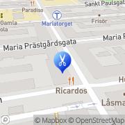 Karta Salong Shami Stockholm, Sverige