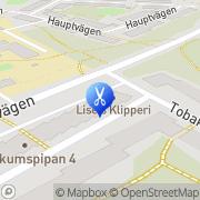 Karta de Jong Laberg, Liselotte Nybygget, Sverige