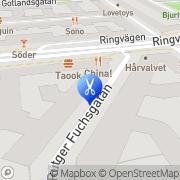 Karta AKQA Stockholm, Sverige